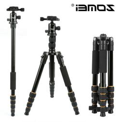 Oben ACM-2400L 4-Section Pro Aluminum Self-Standing Photo-Video Travel Monopod with Mini-Legs