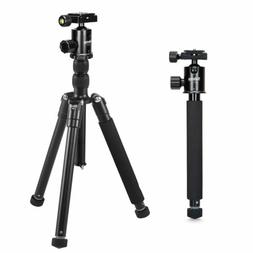 """Adjustable T-170 60"""" Tripod Monopod Ball Head Pouch For Came"""