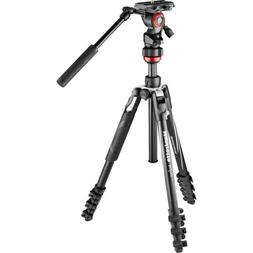 Manfrotto Befree Travel, Light Weight, Fluid Drag System Pro