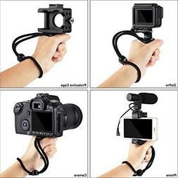 Camera Grip Holder Handle Rig F-Mount Octo Mounts with Monop