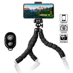 Flexible Small Octopus Mount Mini Tripod Bluetooth Remote St