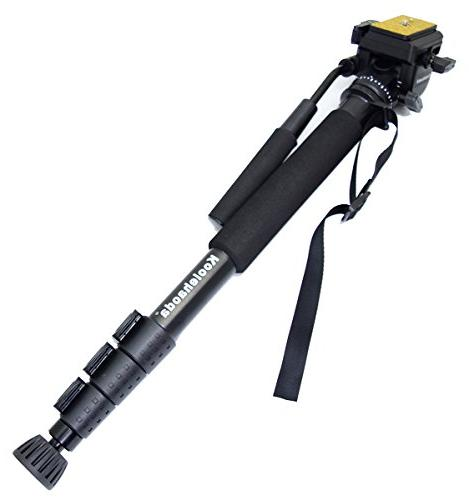 Koolehaoda Monopod Video with feet support stand, 6kg.