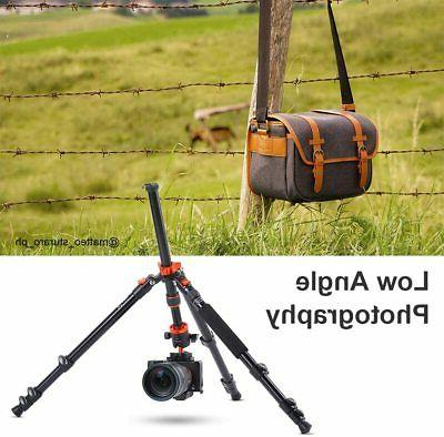 K&F Concept 62'' Travel Tripod with 360° Ball