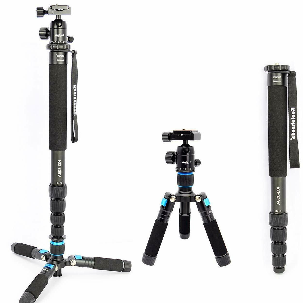 "Koolehaoda 68"" Professional Camera Monopod Fluid Video Head"