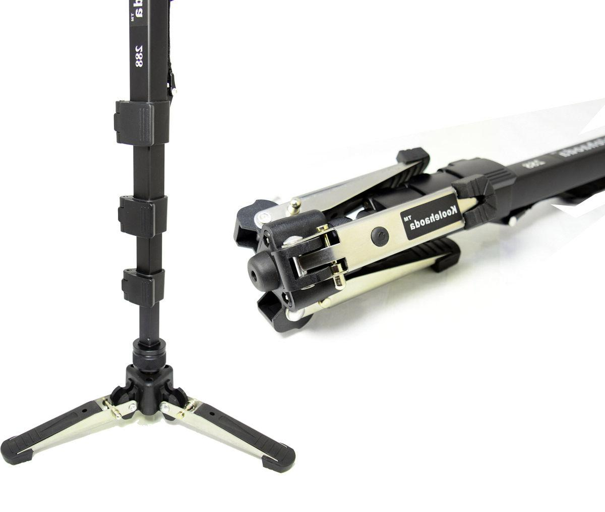 Professional Fluid Video Head Base stand