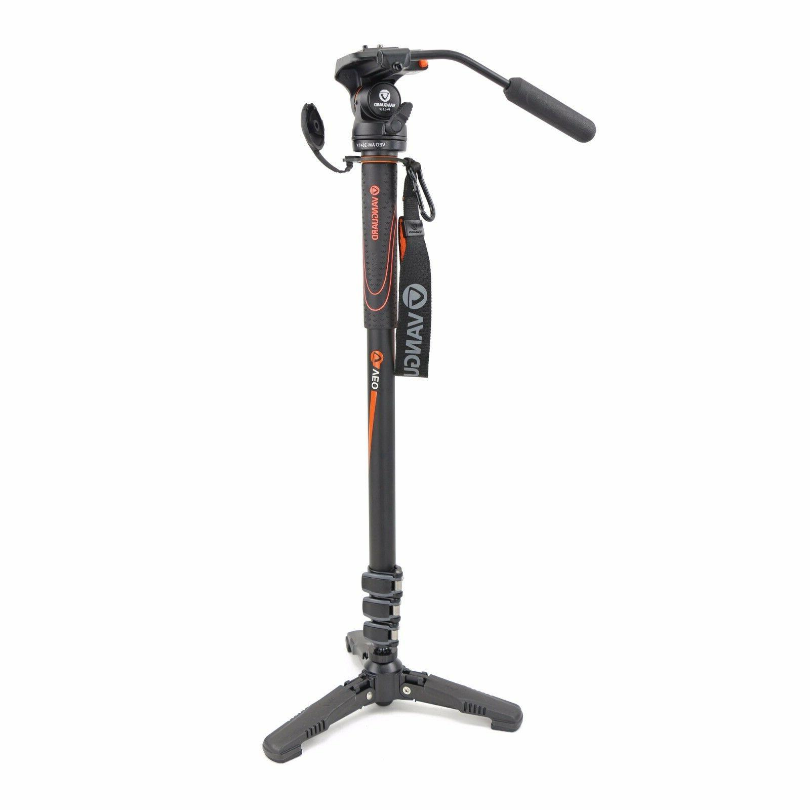 Vanguard VEO AM-264TV Aluminum 4 Section Monopod with 2-way