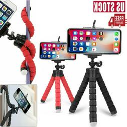 Mini Octopus Tripod Bracket Selfie Stand Monopod Flexible Ho