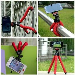 Octopus Tripod Mobile Cell Phone Camera Holder Stand Mount M