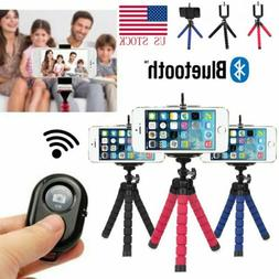 Universal Cell Phone Holder Flexible Octopus Tripod Bracket