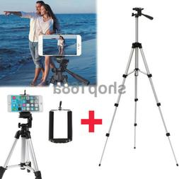 Professional Portable Aluminium Camera Tripod Stand For iPho
