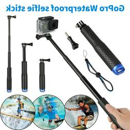 Waterproof Handheld Monopod Selfie Stick Pole for Gopro Hero
